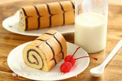 美丽可口的花纹蛋糕卷,你想了解做法吗?1.jpg